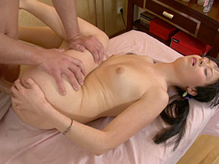 19 y. o. January in the intimate massage video
